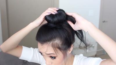 Langkah 3: Rapikan Sisa Rambut
