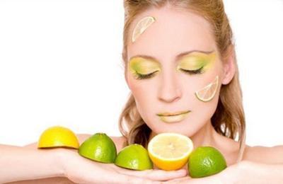 Masker Lemon & Kulit Jeruk
