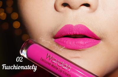 Exclusive Matte Lip Cream: Fuschionately