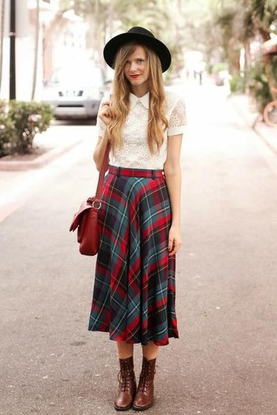 3. Iconis Hat + Midi Skirt