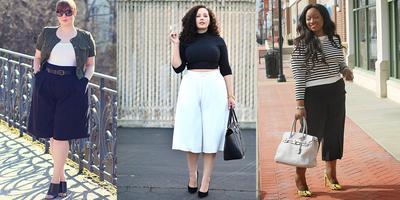 Kamu yang Plus Size Jangan Takut Pakai Kulot, Yuk Ikuti Fashion Tips Berikut ini!