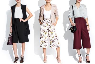 Yuk, Cari Tahu 5 Tips Padu Padan Celana Kulot untuk Wanita Bertubuh Pendek Ini!