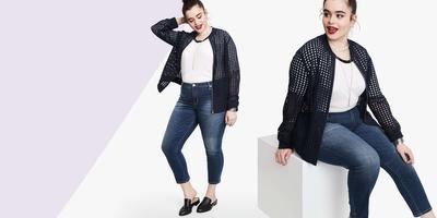 Ini Loh, Model Celana Jeans Wanita yang Cocok untuk Tubuh Gemuk!