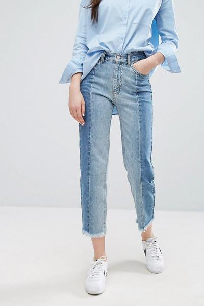 5. Two-tone jeans