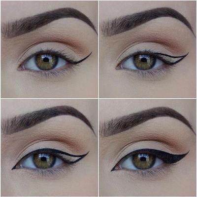 Bentuk Eyeliner untuk Mata Sipit