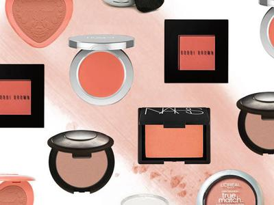 Blush On Berwarna Peach