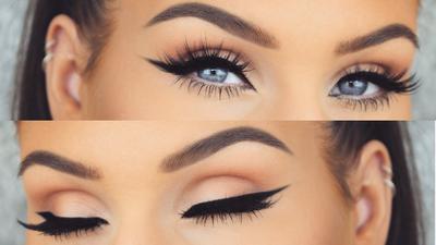 Ladies, Trik Mudah Ini Bisa Memudahkanmu Menggambar Eyeliner, Lho!