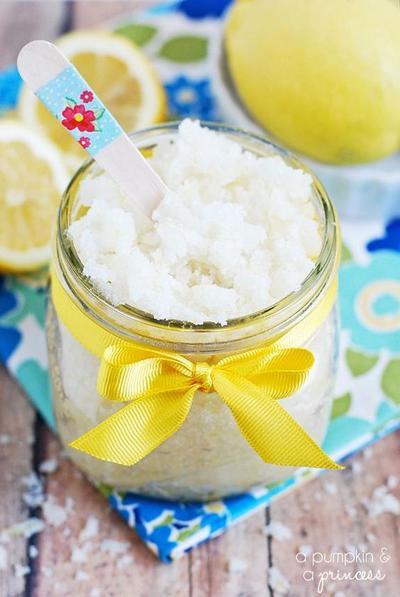 Lemon Lip Scrub