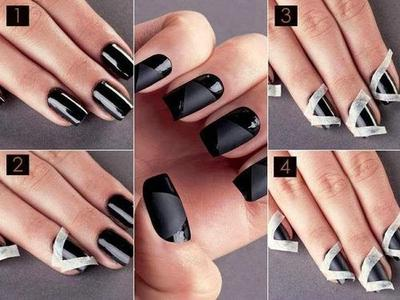1. Stripes Nails