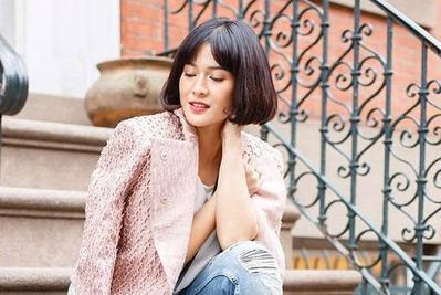 4 Inspirasi Model Rambut Pendek ala Dian Sastrowardoyo untuk Musim Panas