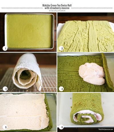 Resep Membuat Matcha Cheese Roll