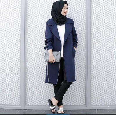 Outer Parka, Gaya Eksklusif Hijab Sporty