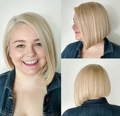 Ini Dia Gaya Rambut Untuk Wanita Gemuk Agar Terlihat Lebih Tirus - Gaya rambut pendek budak perempuan