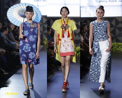 Ladies, Kamu Bisa Tetap Stylish Ke Kantor dengan Batik Formal Berikut, Lho!