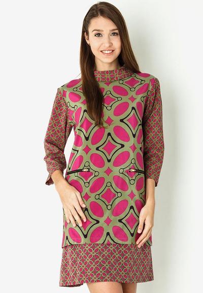 1. Pola Batik Kawung
