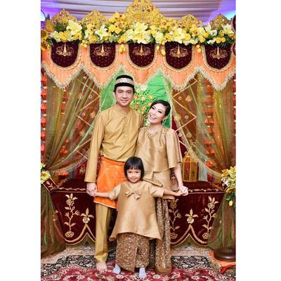 4. Ayu Dewi and Family