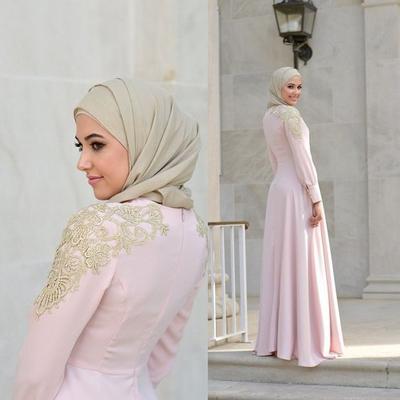 Simple dengan Circle Long Dress