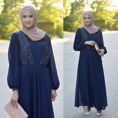 Cantik dengan Chiffon Dress