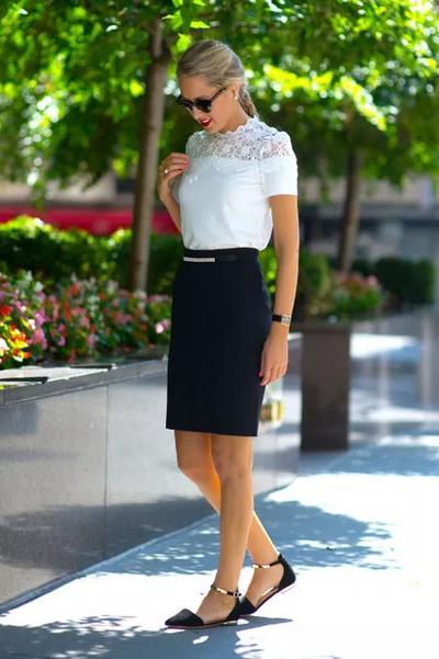 Skirt Dress Office Look