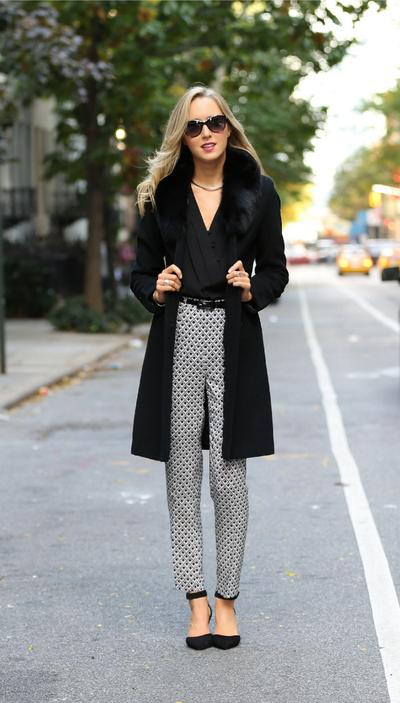 Abstract Pattern Trousers