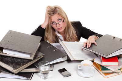 5. Banyak Tekanan Stress