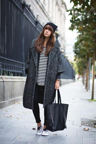 Converse + Coat