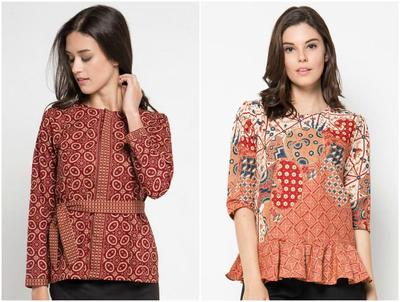 Tampil Cantik di Kantor dengan 6 Rekomendasi Baju Batik Kerja yang Fashionable Ini