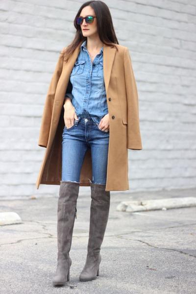 4. High waist boots