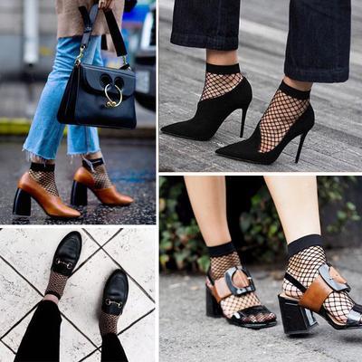 Mau Tampil Lebih Edgy dan Fashionable? Coba Mix and Match Fishnet Sock Ini!