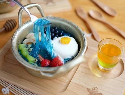 5) Dessert Ramyeon Bingsoo