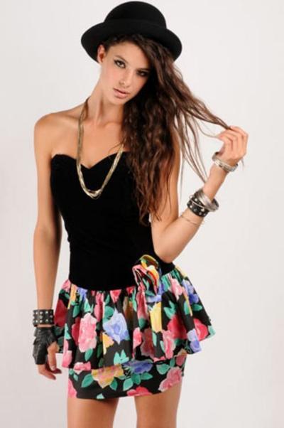 1. Babydoll dress