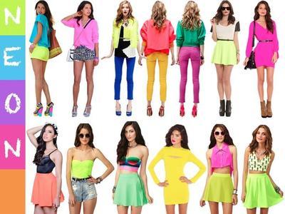 4. Neon style