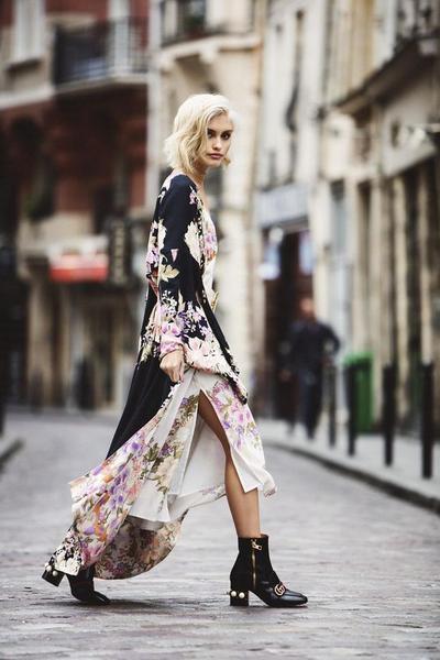 4. Slit Dress