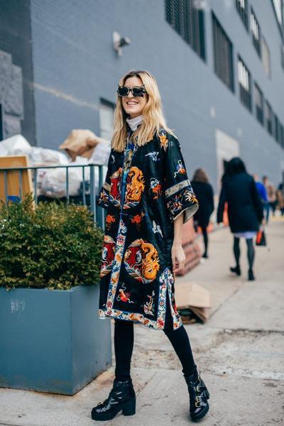 5. Kimono as Dress