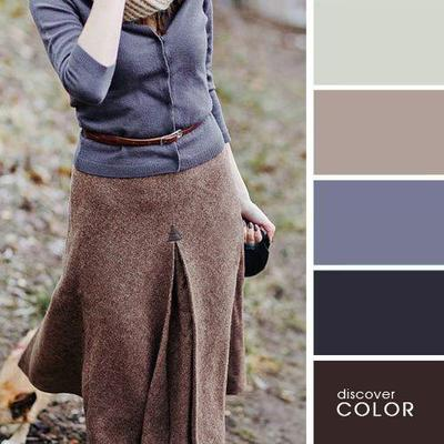 3. Grey Brown Combination