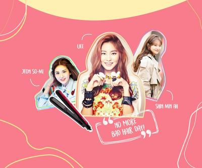 Gaya Rambut Artis Korea Ini Cocok untuk Kamu Pemilik Wajah Bulat!