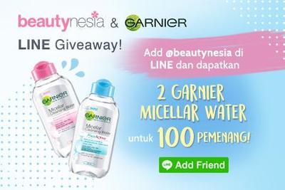 Ini Dia Pemenang Beautynesia LINE Garnier Giveaway!