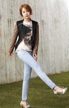 Jeans dan High Heels