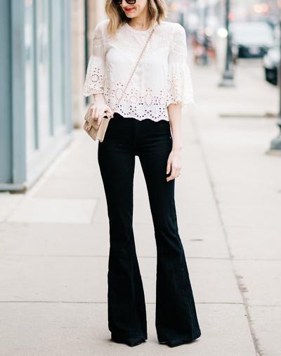 Inspirasi Agar Tampil Stylish ke Kantor dengan Celana Cutbray