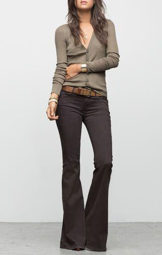 Celana Cutbray + Cardigan