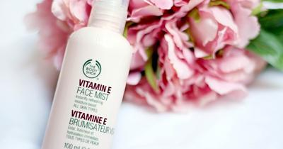 Bikin Wajahmu Fresh dengan The Body Shop Vitamin E Face Mist