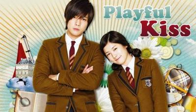 1. Playful Kiss