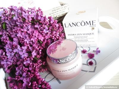 Lancome Hydra Zen Masque Anti Stress Moisturizing Overnight Serum In Mask