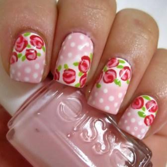 3. Polka-Flower