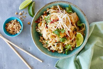 Pad Thai (Thai Style Fried Noodle)