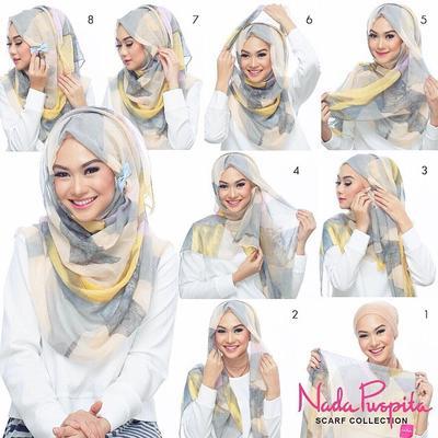Ingin Tampil Beda Saat Lebaran? Ikuti Tutorial Hijab ala Selebgram dan Artis Indonesia Berikut!