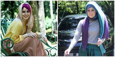 Style Hijab Monoton? Ini Tutorial Hijab Dua Warna yang Simple dan Mudah Agar Kamu Makin Kece