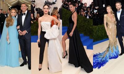 Unik! Ini Selebriti dengan 4 Gaun Red Carpet Terbaik di Acara Met Gala 2017