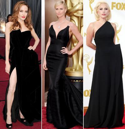 Ladies, Yuk Intip Inspirasi Gaun Hitam Cantik Ala Selebriti Hollywood