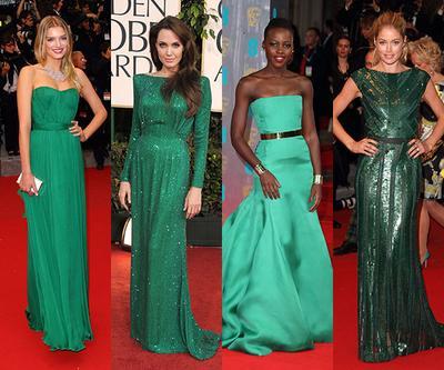 Inilah Dress Hijau Paling Populer Milik Para Seleb Saat Berlaga di Red Carpet!